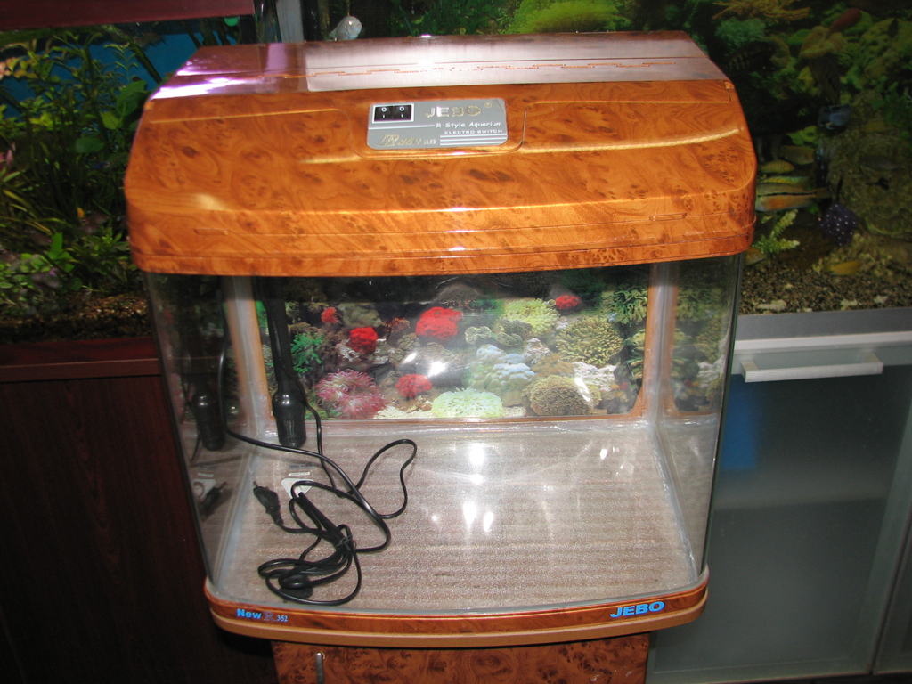 Akuarium jebo r352 complete aquarium system with stand